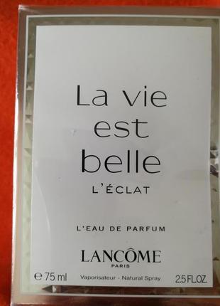 Парфюмированная вода lancome la vie est belle edp spray, 75 мл