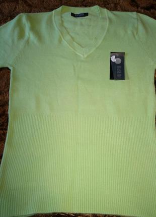 Женская однотонная кофта, свитер новый