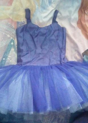 Нарядное платье для девочки с юбкой пачкой из фатина