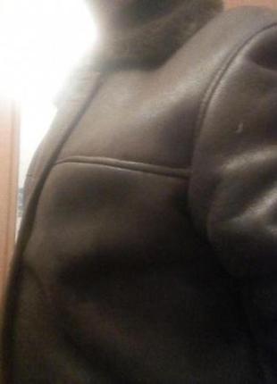 "Зимняя мужская куртка из екозамши бренда ""Bastion"""