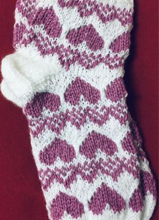 Носки вязаные для женщин