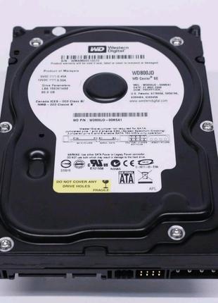 Жесткий диск 80 Gb SATA для компьютера