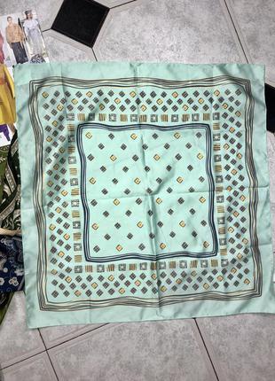 Шелковый платок на шею, голову, сумку, оригинал , италия  🇮🇹