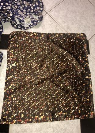 Красивый платок на шею, хвост, сумку , оригинал италия 🇮🇹