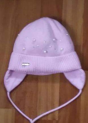 Зимняя шапка agbo польша, на 2-3 года