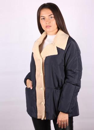 Куртка женская демисезонная по распродаже большой размер 55/57...