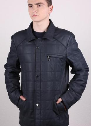 Куртка мужская кожа натуральная распродажа бренда