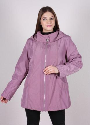 Куртка женская демисезонная осенняя большой размер