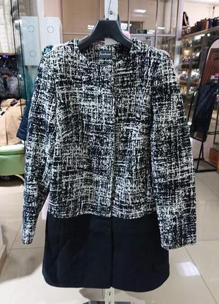 Пальто женское демисезонное букле кашемир