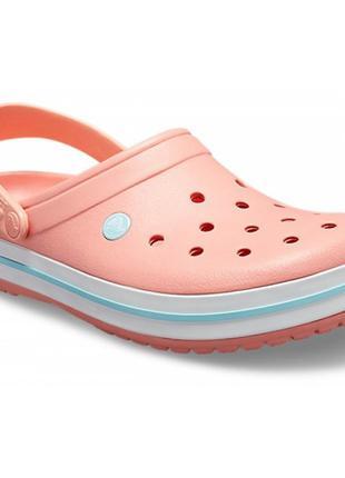 Кроксы crocs crocband melon ice blue