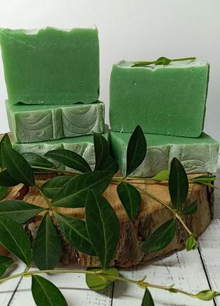 Натуральное мыло бергамот