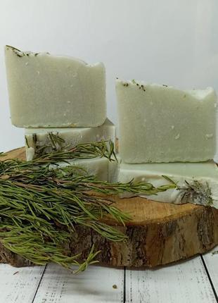 Натуральное мыло розмарин