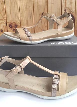 Кожаные удобные босоножки сандалии ecco summer sandal оригинал