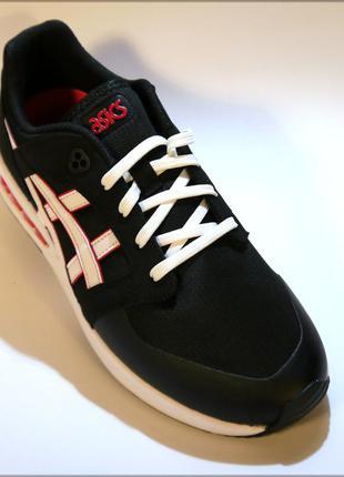 Asics gelsaga sou черные мужские кроссовки оригинал 44
