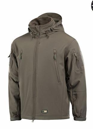 M-Tac куртка Soft Shell с подстежкой олива