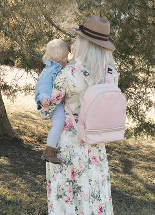 Рюкзак для мамы mommore розовый