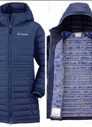 Курточка пальто columbia с omni heat  детский xl, s