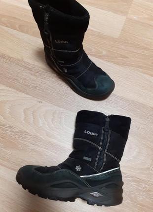Зимние ботиночки lowa, р.34