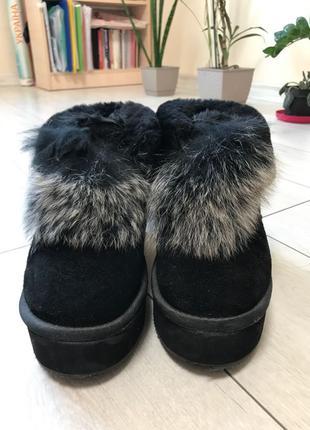 Ботинки женские с мехом
