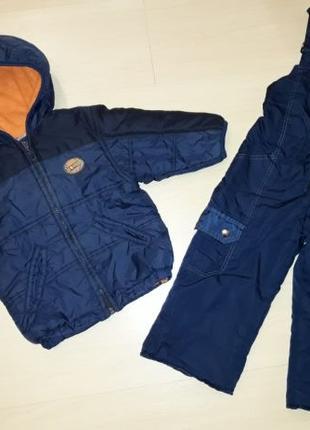 Комплект куртка и полукомбинезон демисезонный