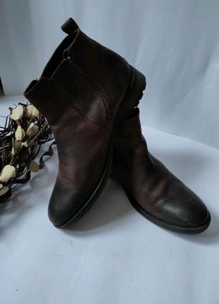 Кожаные ботинки Clarks, в отличном состоянии, 29.5 см, 45-46 разм