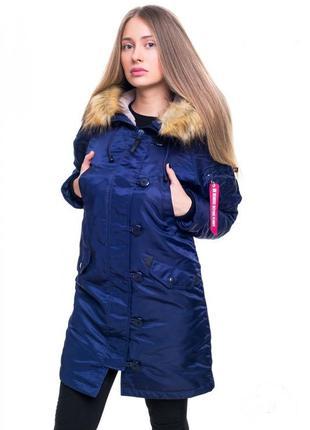 Жіноча аляска olymp n-3b slim fit, navy