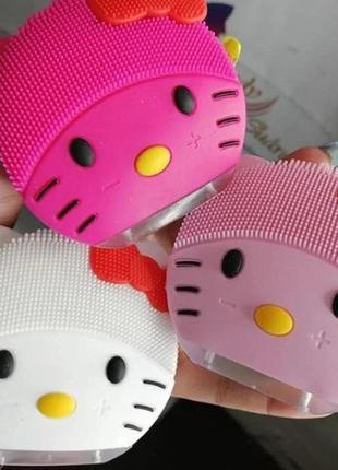 Щетка для очищения лица kitty mini2