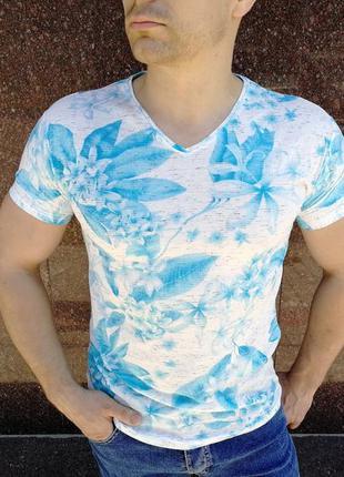 Футболка мужская с принтом / футболка чоловіча з принтом