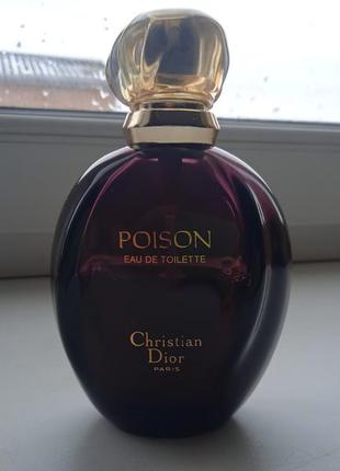 Туалетная вода poison от  christian dior