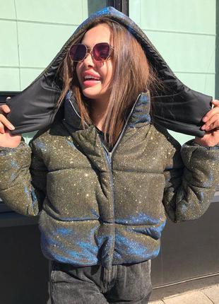 Куртка пуховик зимняя женская