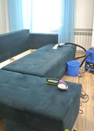 Профессиональная химчистка диванов и ковров Бердянск