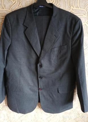 Отличный шерстяной классический мужской костюм gregory arber