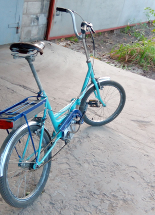 Электровелосипед десна с кареточным мотором. Електровелосипед.