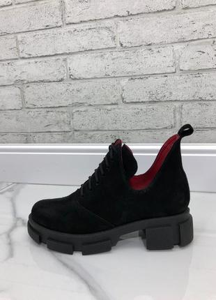 Короткие деми ботинки без утеплителя. 36-41