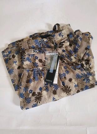 Mexx лёгкая женская юбка с цветочным принтом.брендовий одяг stock