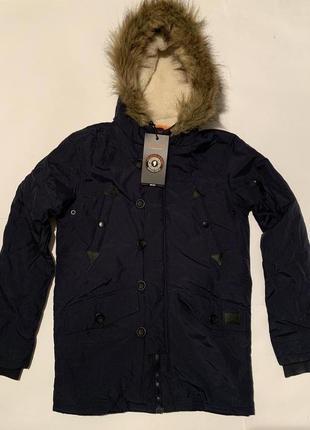 Подростковая парка brave soul, куртка евро зима new!!!