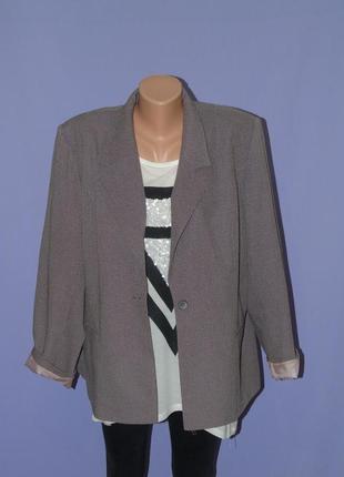 Стильный пиджак с подкладкой 24 размера