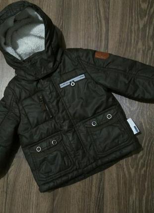 Куртка еврозима на мальчика name it