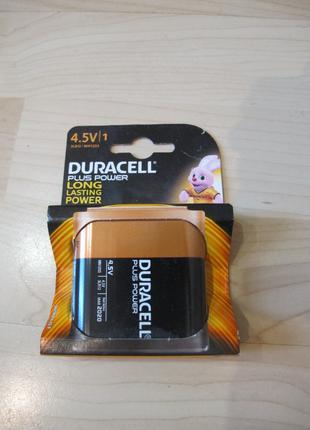 Батарейки Duracell 4,5 V