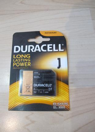 Батарейки Duracell 6 V