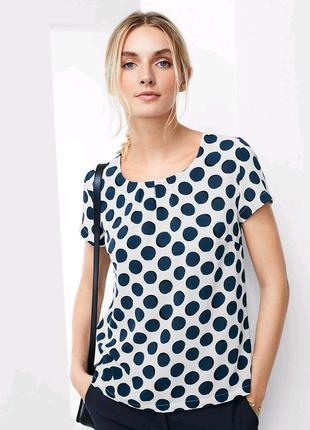 Чарівна блуза в великі горохи, р. наші: 46-48 (40 євро)