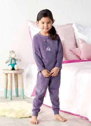 Велюровая пижамка, домашний костюм 2-4 года лупилу