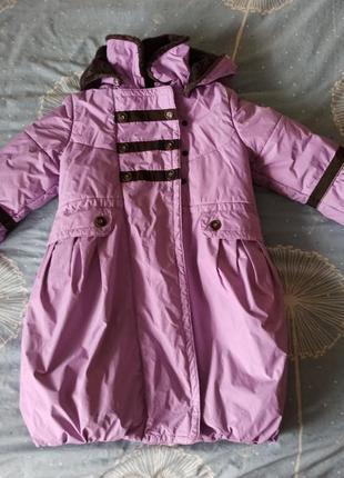 Куртка пальто lenne, зима, 122-128