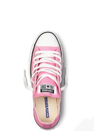 Женские низкие кеды Converse Pink / розовые