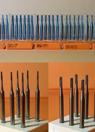 Стоматологические боры: алмазные,твёрдосплавные,стальные,полиры.