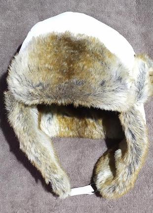 Шапка ушанка barts  теплая, не продувается, с искусственным мехом