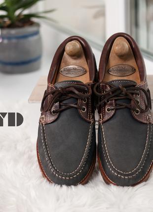 Топсайдеры Lloyd, Германия 41р мужские мокасины кожаные туфли пов