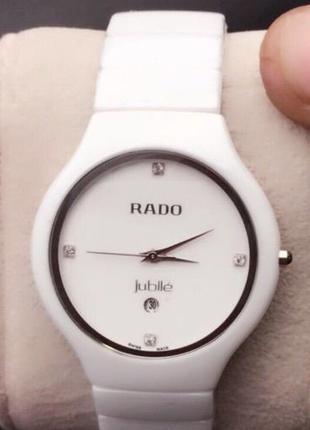 Часы Rado Jubile Ceramic белые