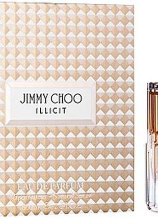Jimmy choo illicit парфюмированная вода 4.5мл,оригинал