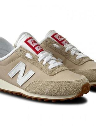 Кроссовки new balance 410 beige trainers
